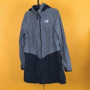 Nike International Men Jacket long casual gray